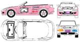 ニコニコオープンカー(RX-8)