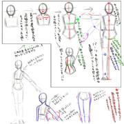 体の描き方【初心者向け】