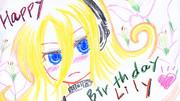 Lily1周年おめでとう!