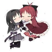 「ほむらぁぁぁっ!」「杏子…!」