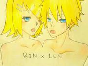 リン×レン【色つき】