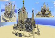 【Minecraft】サグラダファミリア【完成版】