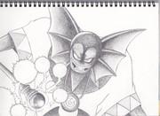 ハーゴン様を鉛筆で描いてみた