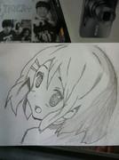 初めて描いてみた。平沢唯