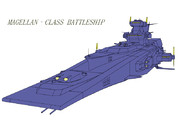 MAGELLAN マゼラン級戦艦(戦隊標準カラー)