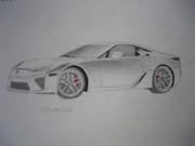 LFAをシャーペンとペン2本で描いてみた。