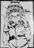 ステッカー ボーカロイド GUMI