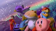 白黒の画面なのに虹をテーマにしたゲームだなんて粋じゃないか