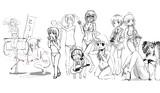 【お絵かき企画】~女の子と水着と音楽と~