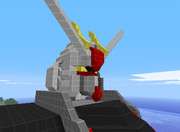 【Minecraft】フリーダムガンダム【頭】