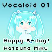 Happy B-day MIKU!!