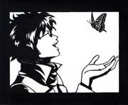 【銀魂】 坂本辰馬 【切り絵】