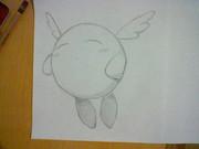 天使のカービィを描いてみた