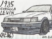 1985年 トヨタ カローラ レビン