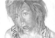 黒ギャル風な女性