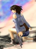 戦場の少女