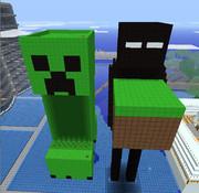 Minecraft エンダーマンを作ってみた