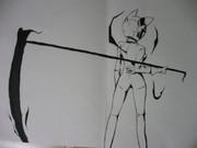 セルティ・ストゥルルソンを描いてみた