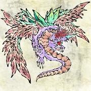 聖剣2 神獣 描いた