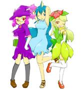 擬人化三姉妹