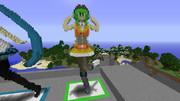 Minecraft で 立体 GUMI 【作ったもの】