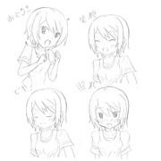 【今日の1枚】表情練習2