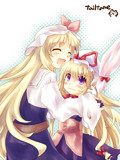 かわいがり(豊姫と紫)
