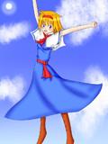 人気投票と聞いてアリスを描いてみた!