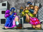 日常の拳再び「長野原姉妹編完結!ミオウ、ついに敗れる!?」