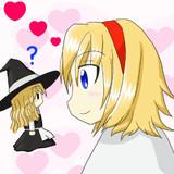 アリス&魔理沙(人形)