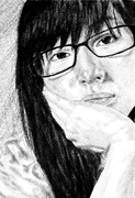 「眼鏡」を描いてみた。