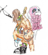 Mad Girls and Skull