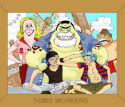 【ONE PIECE】TOMS WORKERS