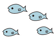 【背景素材46】魚1