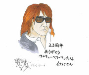 B'z23周年!(1日遅れ)