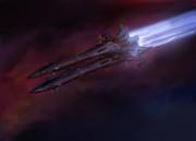 露式二連宇宙駆逐艦 ペレスヴェート&オスリャービャ