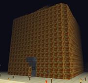 Minecraft マグマの家 作ってみた