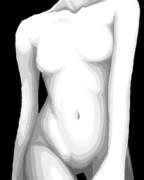 乳首の消失