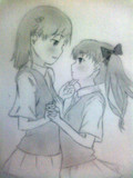 御坂美琴&白井黒子 シャーペン