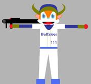 バズーカ砲を持ったバファローブル