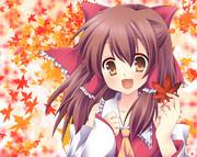 【霊夢】秋の予感。