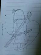 授業中に描いてみた…