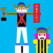 オルフェーヴルとバファローブル(表彰式編)