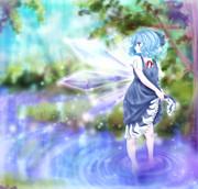 残暑の妖精