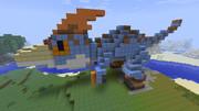 【青き狩人】Minecraftで作ってみた【ドスランポス】
