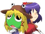 諏訪子と神奈子