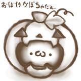 おばけかぼちゃ(・ω・)