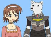 イカ娘クエスト3(商人サナーエと獣人アレックス)