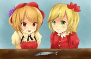 秋姉妹とサンマ