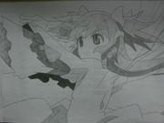 魔法少女まどか☆マギカ「アルティメットまどかVer.01」描いてみた